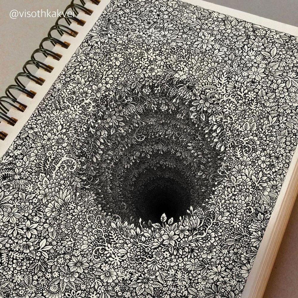 Hypnotic illustrations